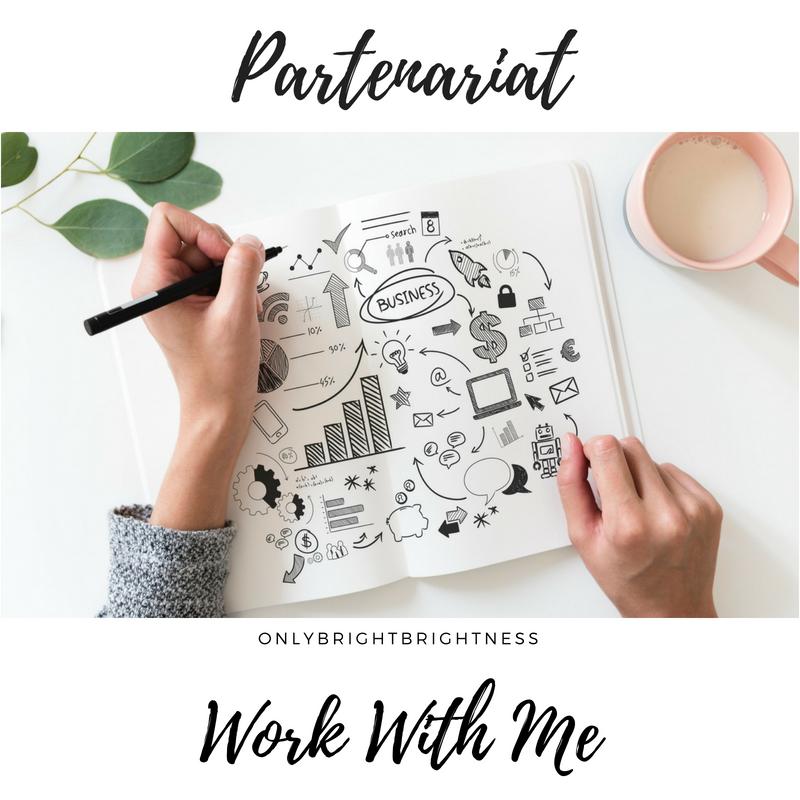 PARTENARIAT - Partenariat - Work with me