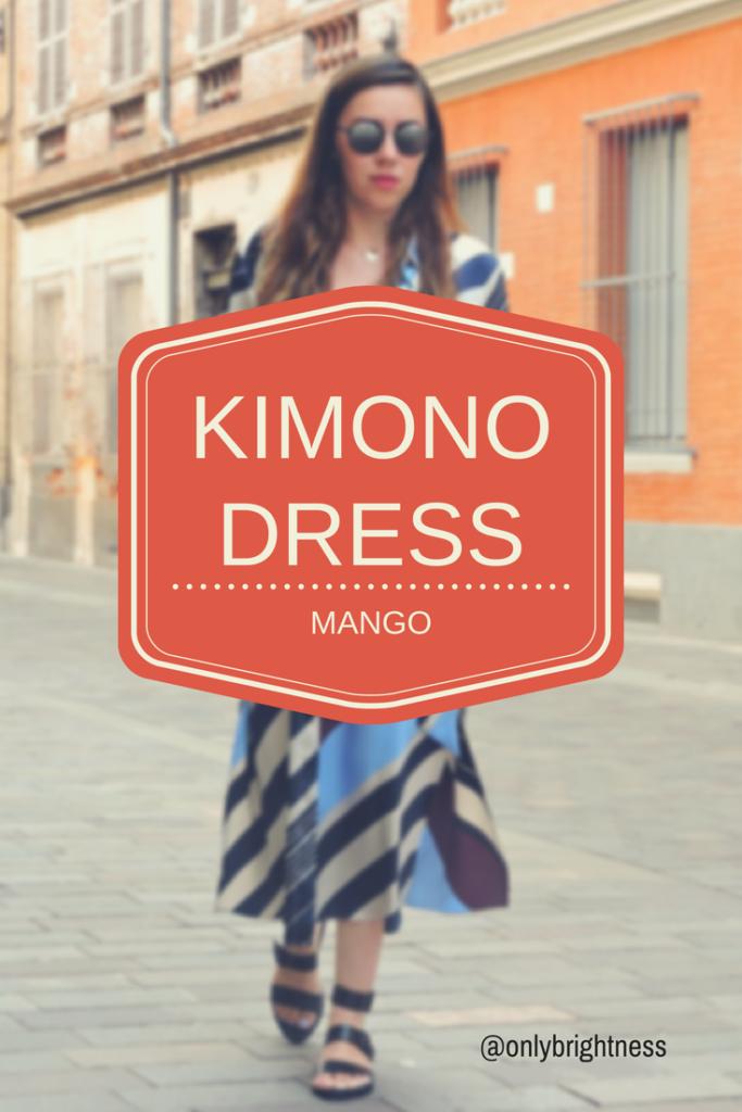 la robe kimono