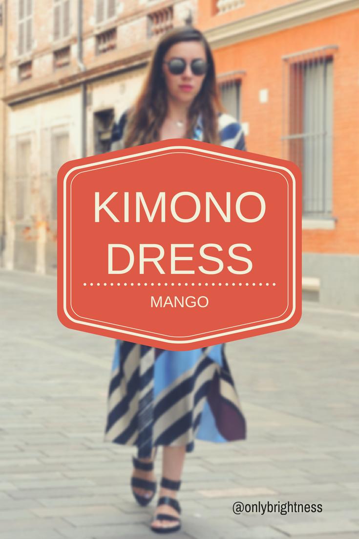 la robe kimono mode