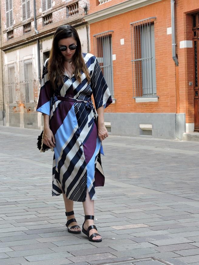 kimono dress onlybrightness 2 - Mango Kimono Dress