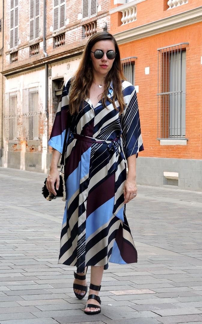 kimono dress onlybrightness 4 - Mango Kimono Dress