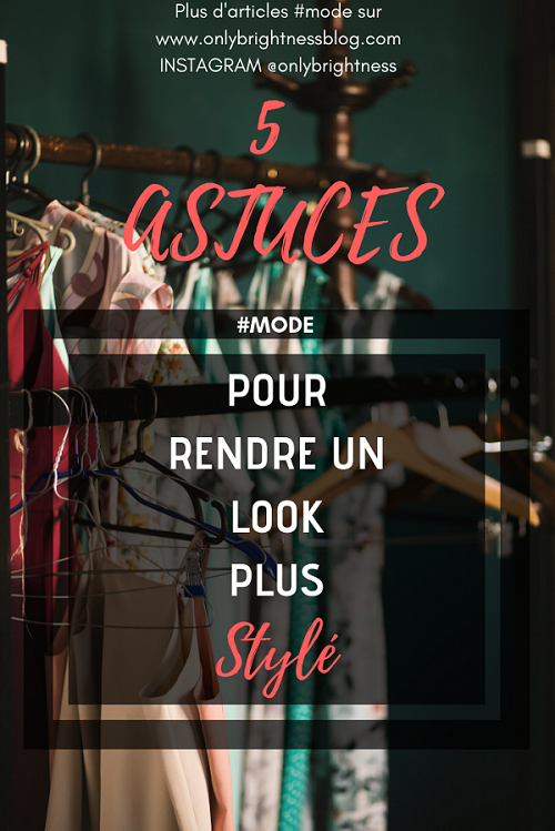 5 astuces look stylé #look #astuce #tips #mode #style
